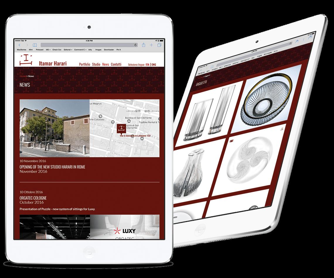 Studio Harari iPad