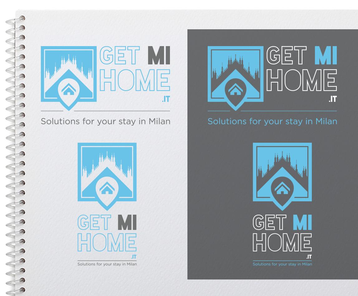 Progettazione logo GetMiHome