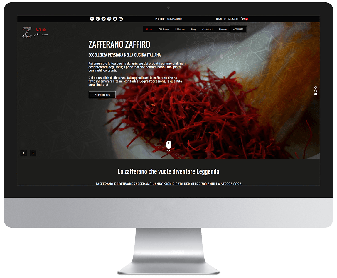 Zafferano Zaffiro desktop