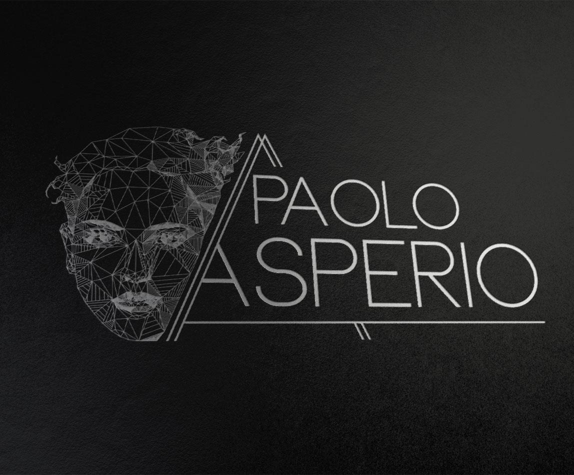 Logo in negativo per Dr. Paolo Asperio