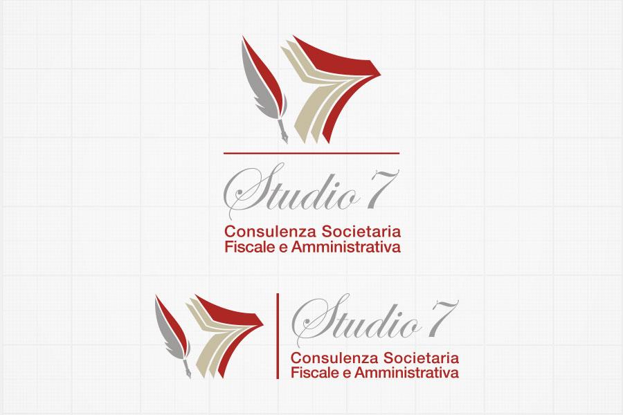 logo Studio7 versione orizzontale